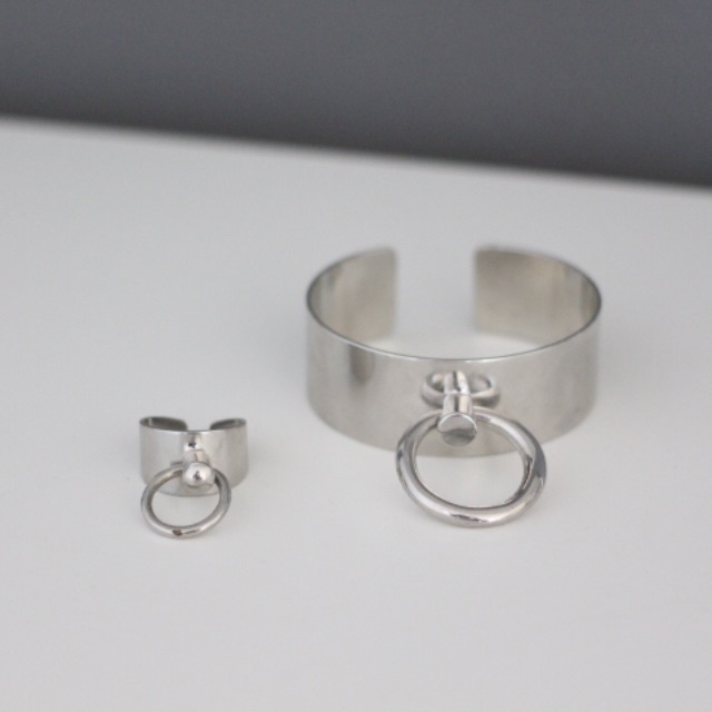Bound Cuff and Ring