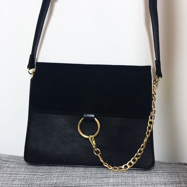 5e1ee3e1cd chloe faye medium chain bag