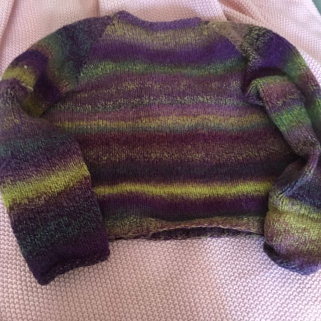 Colourful Woollen Jumper