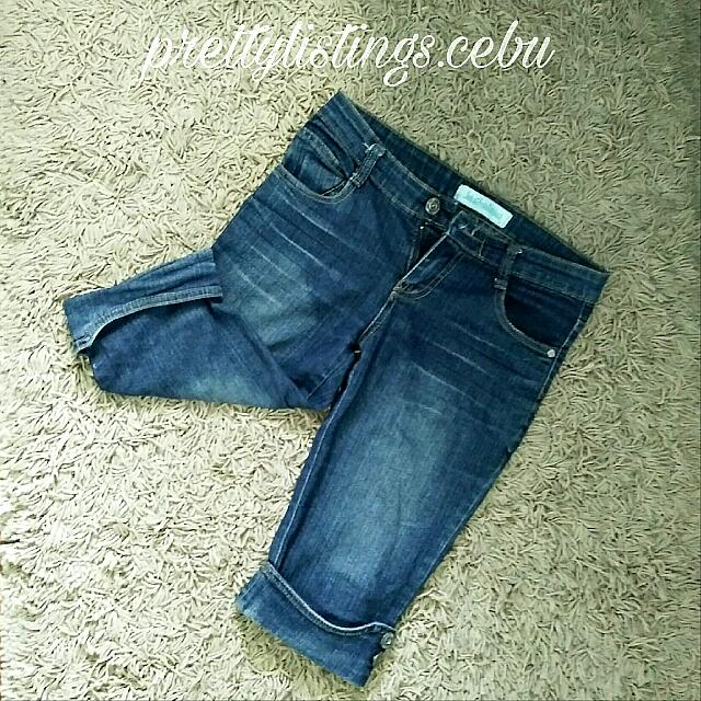Pre-loved Denim Capri Pants
