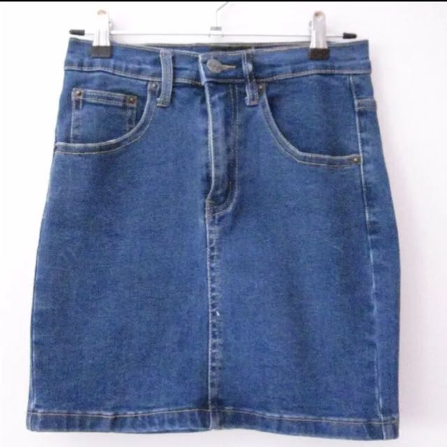 Denim Skirt Ziggy