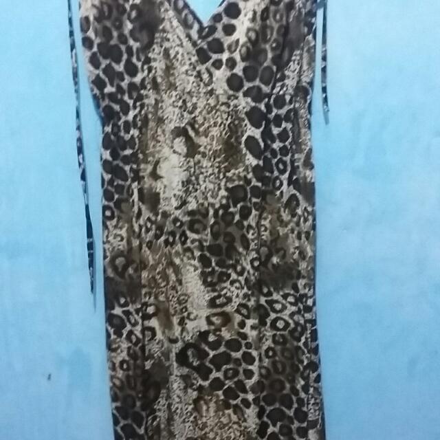 Dress Macan Panjang