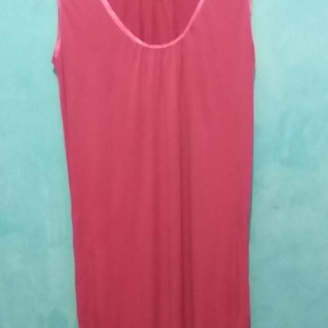Dress Panjang Pink