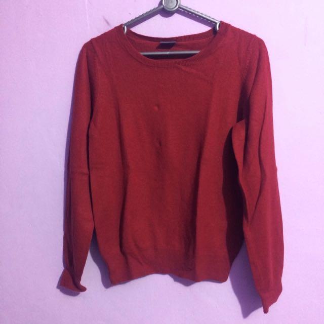 Esprit Sweater In Maroon