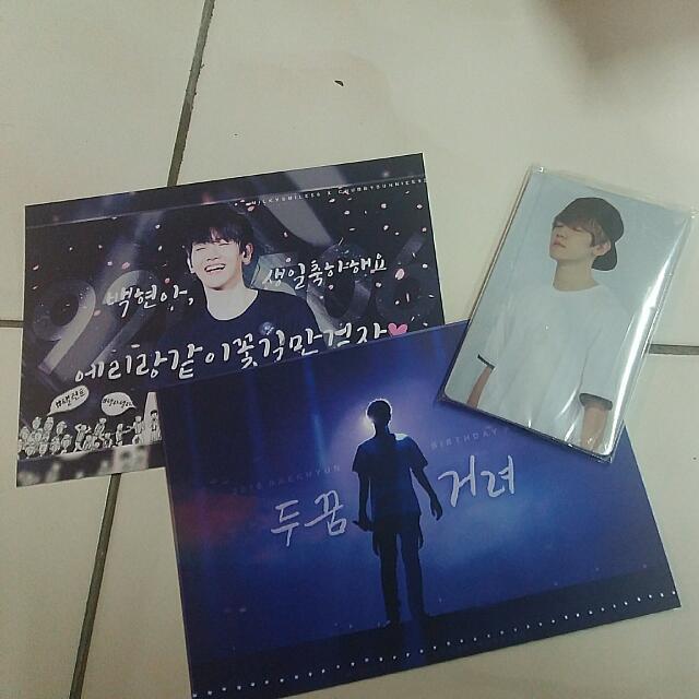 EXO Milkysmile X Chubbybunnies Korean Fansite Merchandise