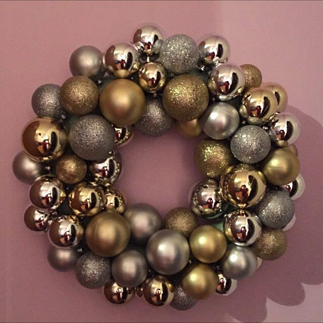 Handmade Christmas Ornament Wreaths