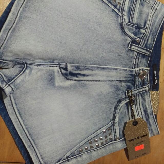 High Brand Size 5 High Wasted Denim Shorts