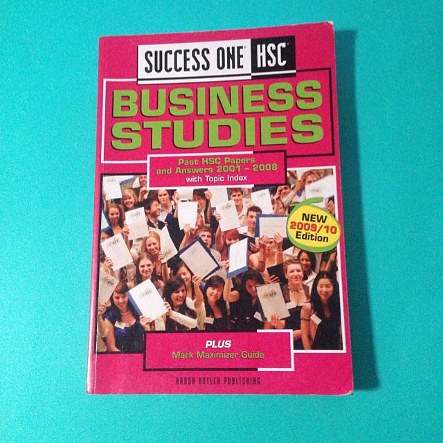 HSC Business Studies Past Papers With Answers