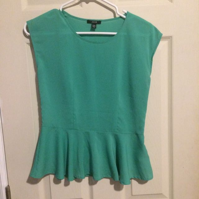 Jacob Peplum Shirt