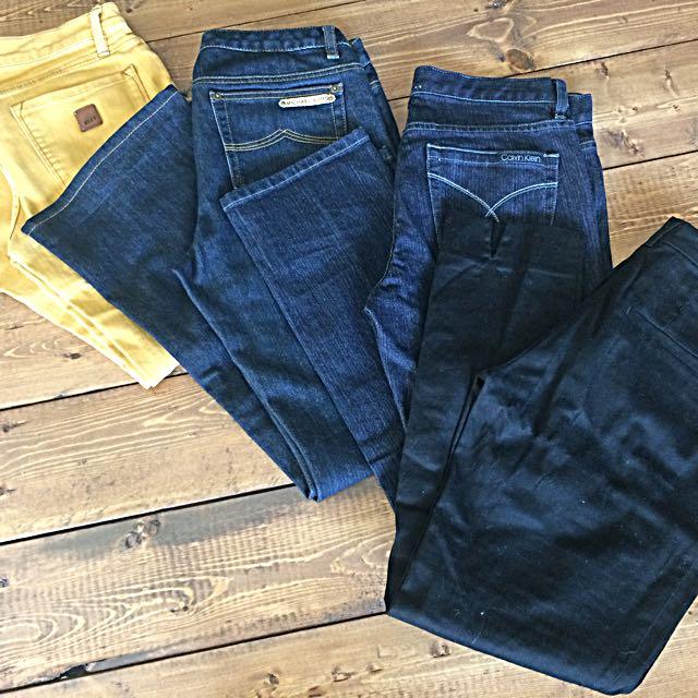 Brand Name Jeans (MK, CK)Blazers/Sweaters (FCUK, GAP Etc.)