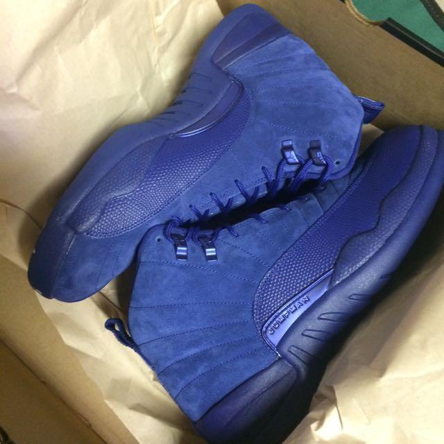 Jordan Deep Royal Blue Retro 12s