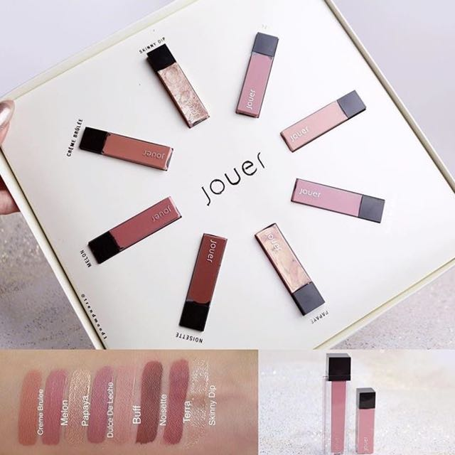 PENDING FOR ALICE- Jouer Limited Edition Best of Nudes Mini Gift Set