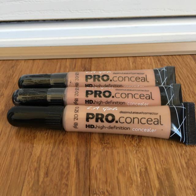 La Girl Pro Concealer HD Concealers