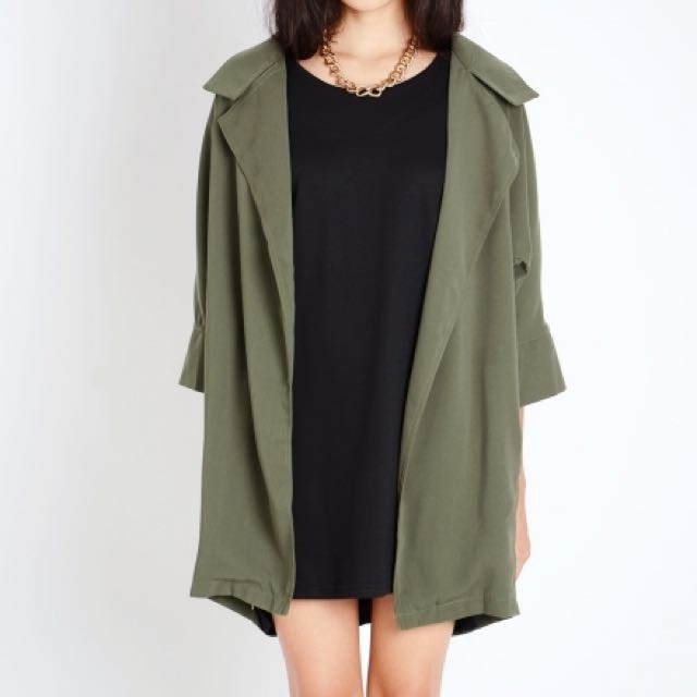 Lacepipe Army Green Parka
