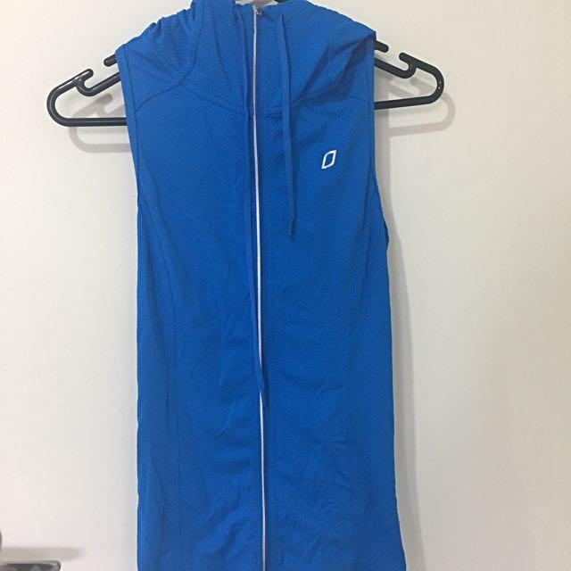 Lorna Jane Zip Up Hoodie Vest