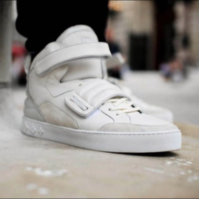 10ff89861c03 Louis Vuitton X Kanye West White Jaspers