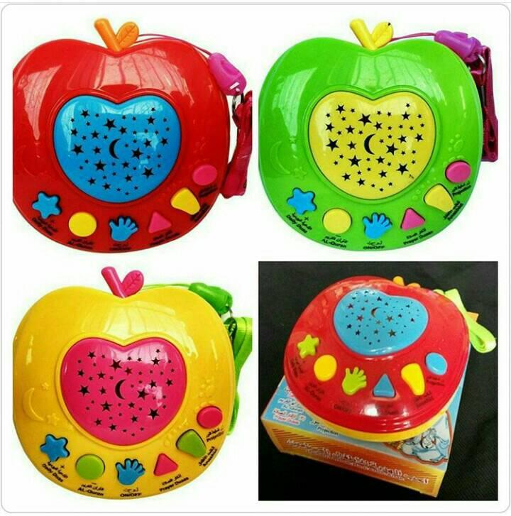 Mainan Anak Apple Learning Qur'an/ Mainan Edukasi Apel Quran