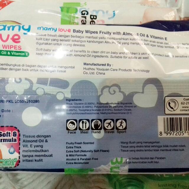 Mamy Love Tissue Basah