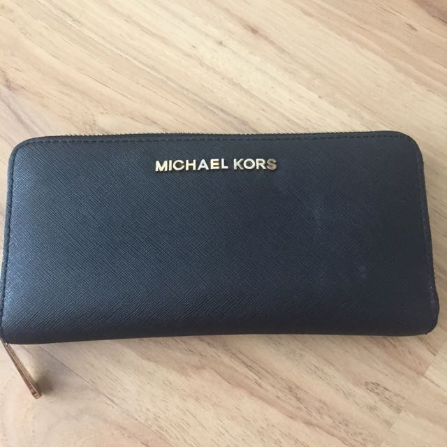 Michael kors Jet Set Continental Zip Around Wallet