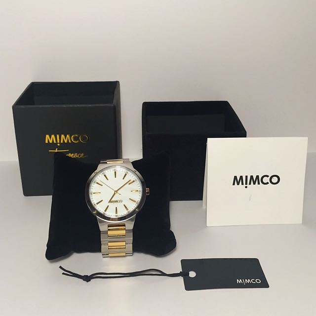 NEW Mimco Silver and Gold Watch