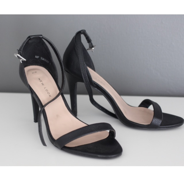 *Price Drop* Minimal Heeled Sandals from NEWLOOK