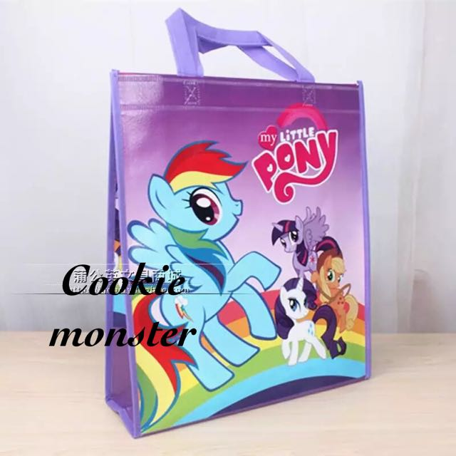 My Little Pony Mlp Party Supplies Goo Bags Tote Outing Tuition Swimming Babies Kids On Carou