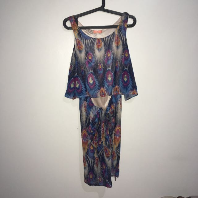 Nanno Peacock Dress