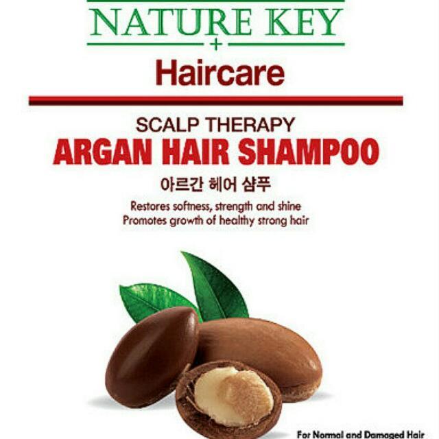Nature Key Argan Hair Shampoo