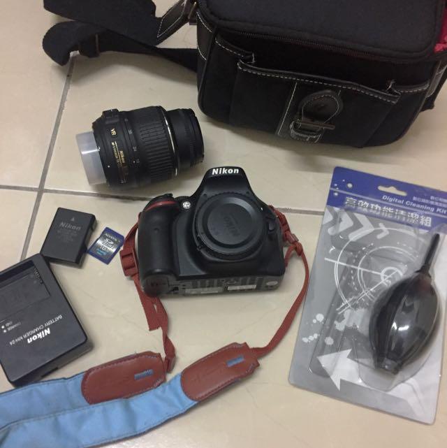 Nikon D5200單眼相機 二手