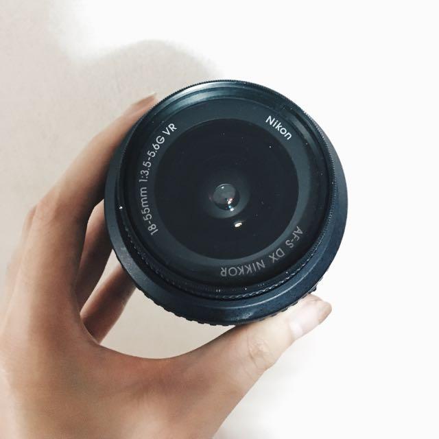 Nikon Black Lens 18-55mm