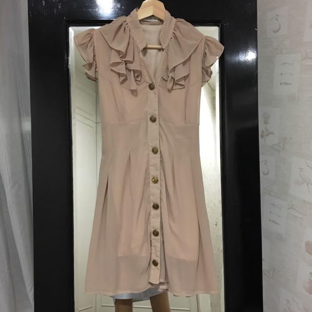 Nude/beige Vintage Dress