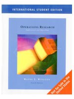 Operations Research: Applications and Algorithms