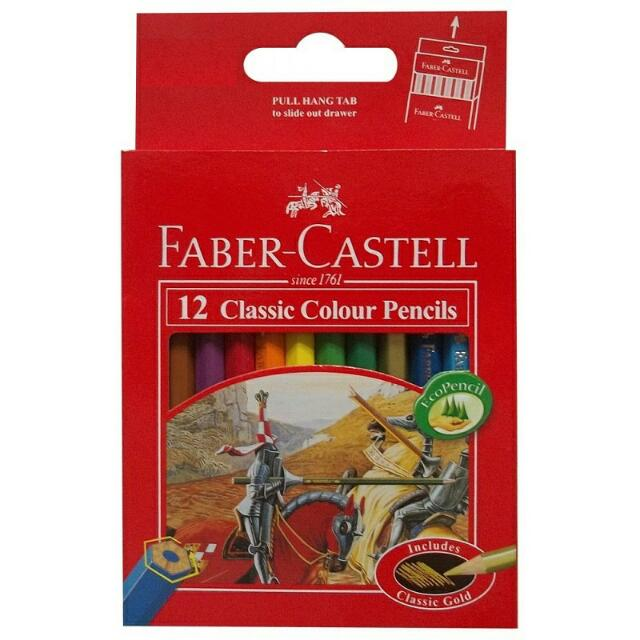 Pensil Warna Faber Castell 12 kecil