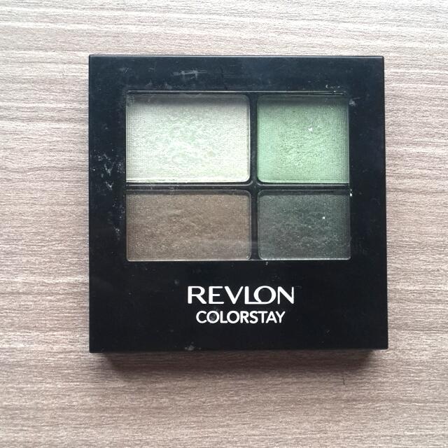 Preloved Revlon Eyeshadow Quad Green