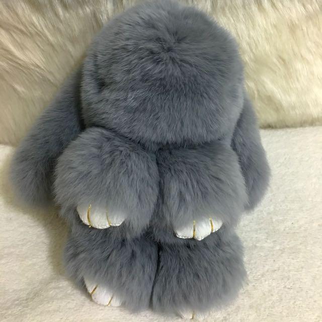 High Quality Rabbit Key Ring Pom Pom