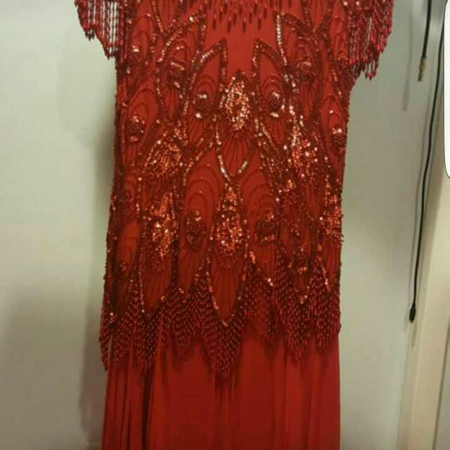Read With Beads Dress Very Stunning
