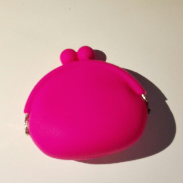 silicon purse