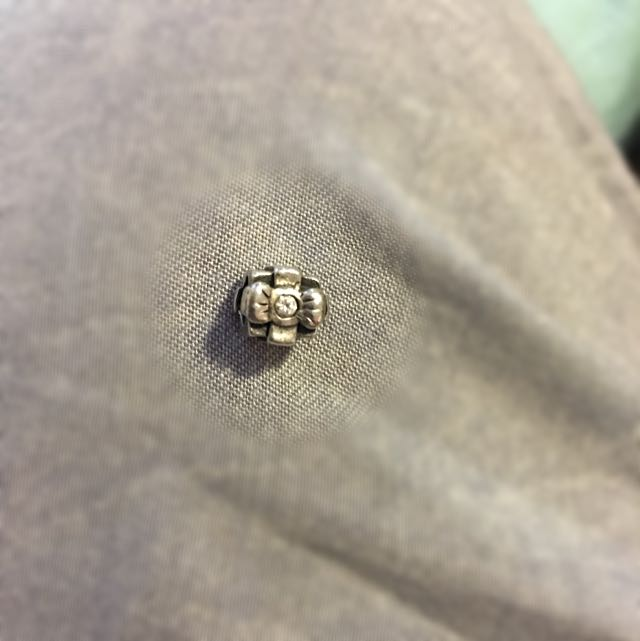 Silver Present Charm To Fit Pandora
