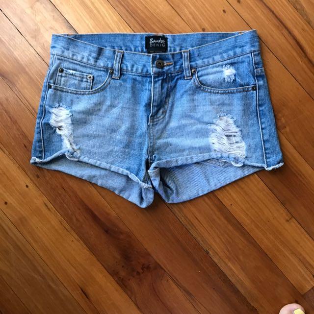 Size 10 Bardot Vintage Shorts