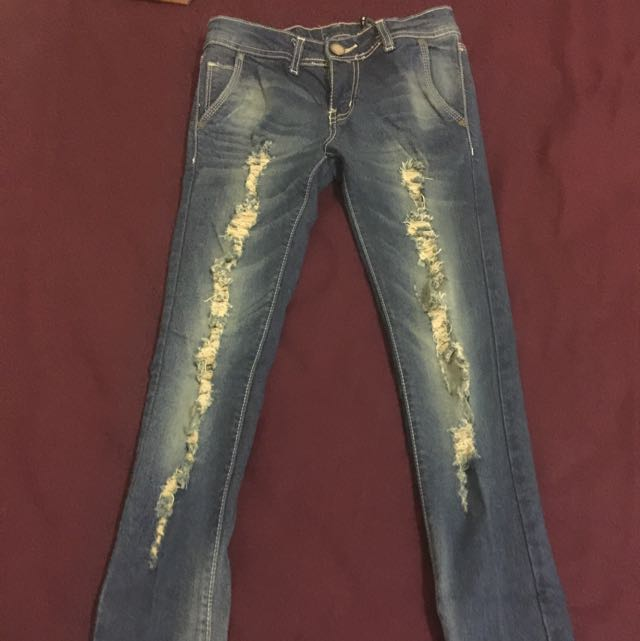 Skinny Rapped Jeans