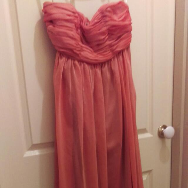 Strapless Long Dress