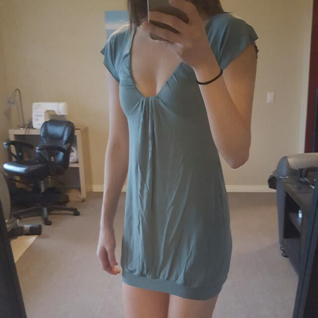 Teal/dark Turquoise Wilfred Dress