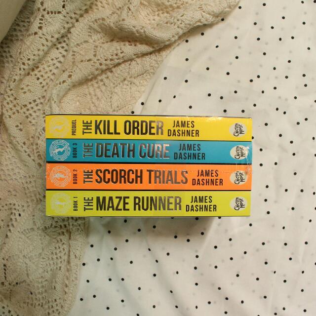 The Maze Runner Boxset