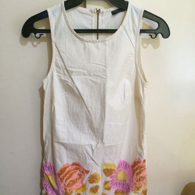 Top shop Cream Dress