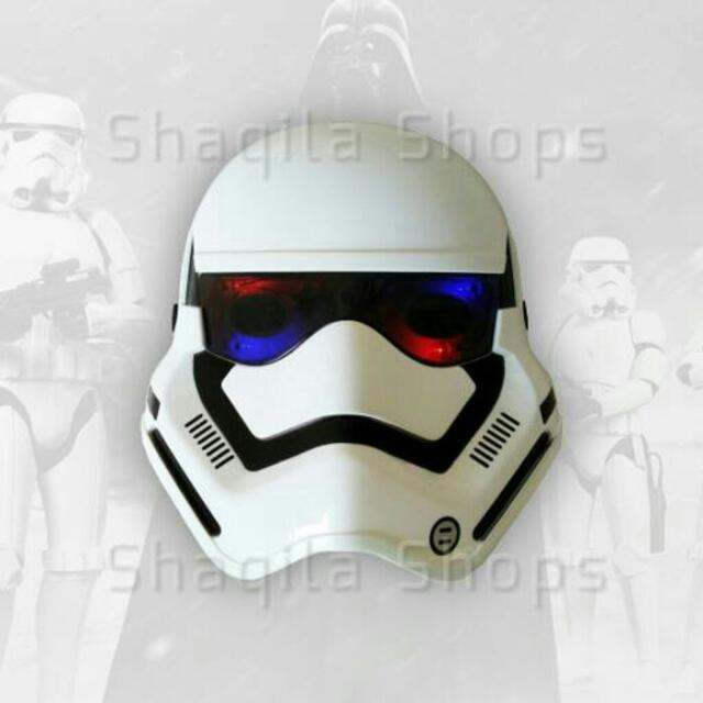 Topeng Storm Trooper Star Wars