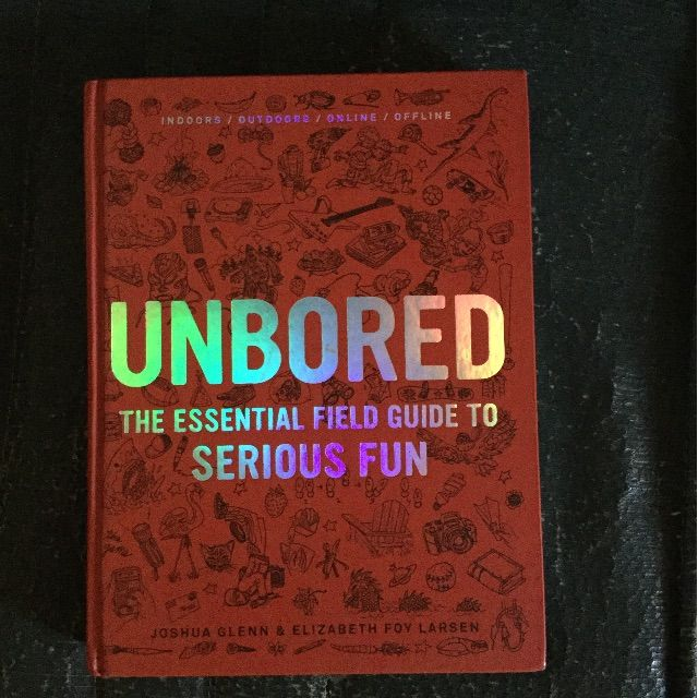 Unbored The Essential Field Guide To Serious Fun Buku Alat Tulis