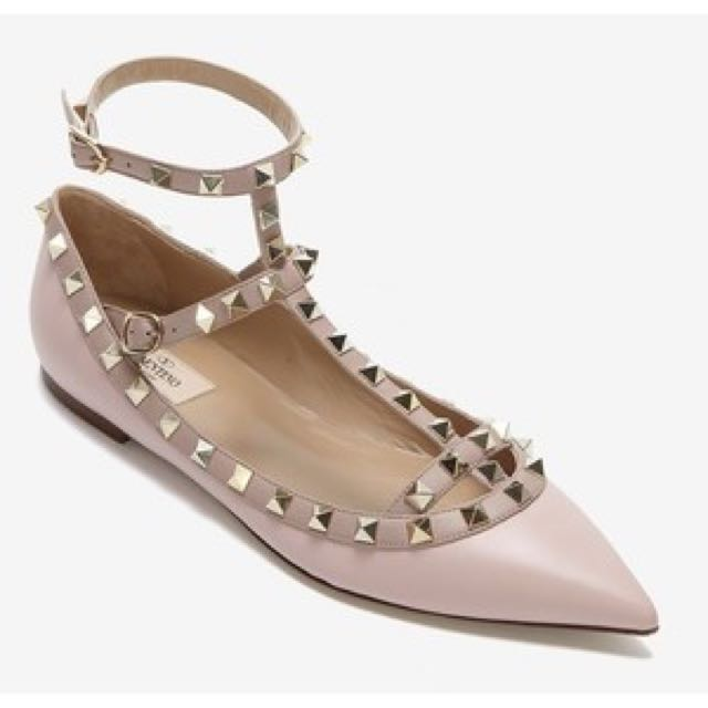 0930888d5958 Valentino Inspired Studded Flats
