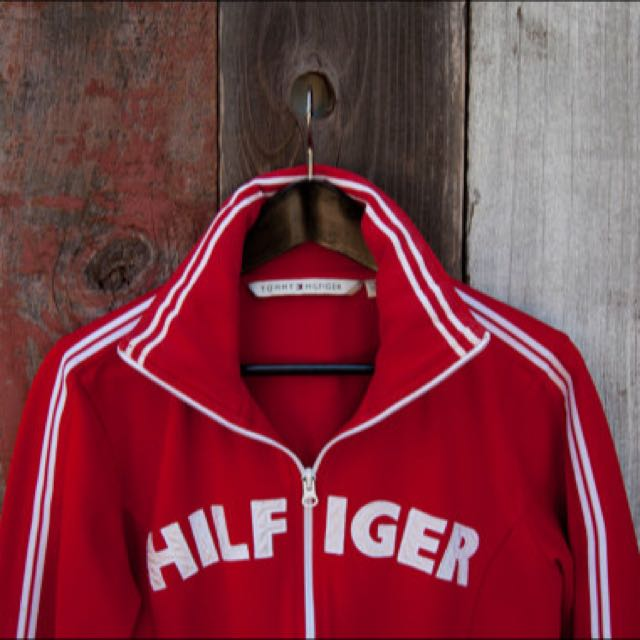 VINTAGE TOMMY HILFIGER Red Jacket