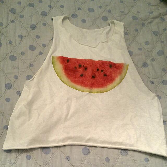 Watermelon Muscle Tank