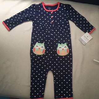 New Carters Girl Romper